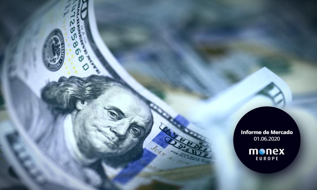 El dólar retrocede tras un anuncio de sanciones a China menos agresivo de lo esperado
