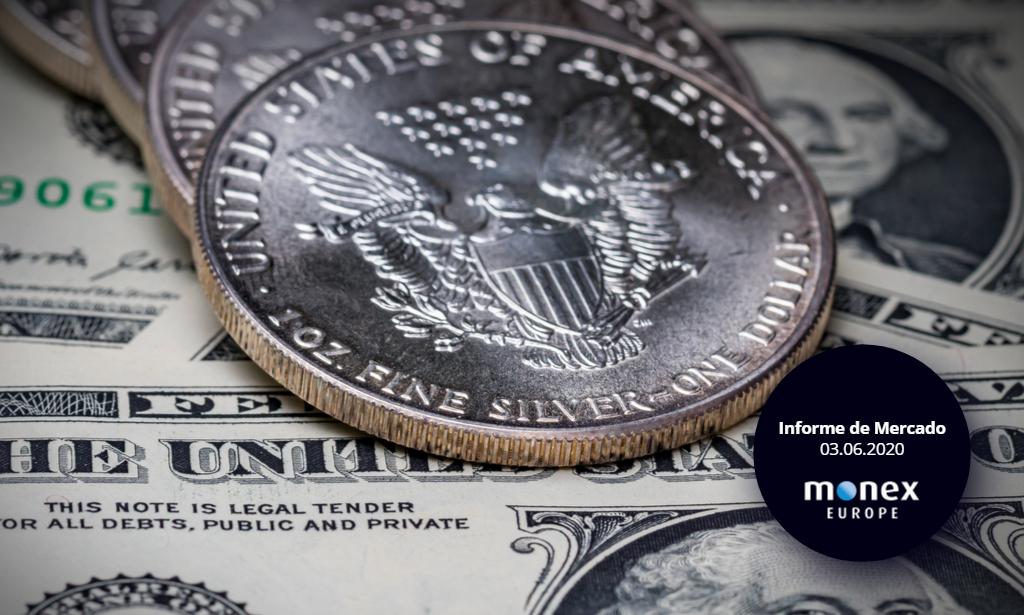 El mercado saca provecho de un dólar débil