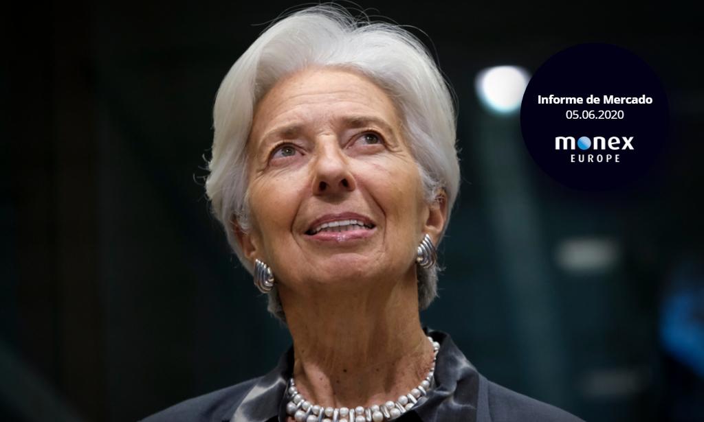 El euro agradece el buen trabajo de Lagarde