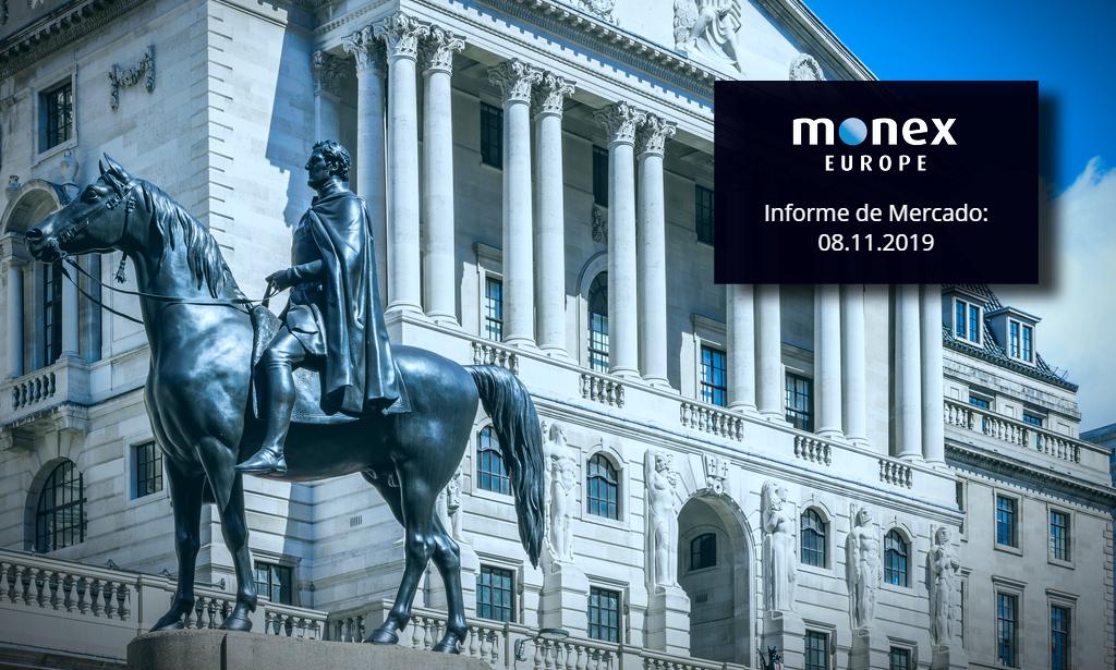 El Banco de Inglaterra domina la acción de la libra esterlina