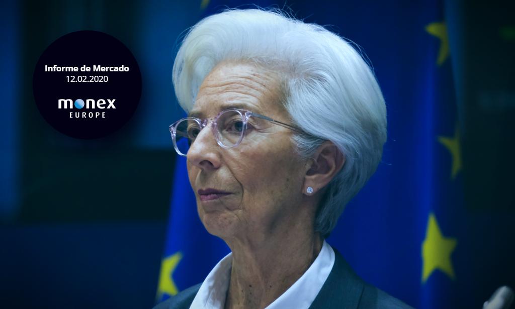 Neutralidad en las palabras de Lagarde detiene la caída del euro