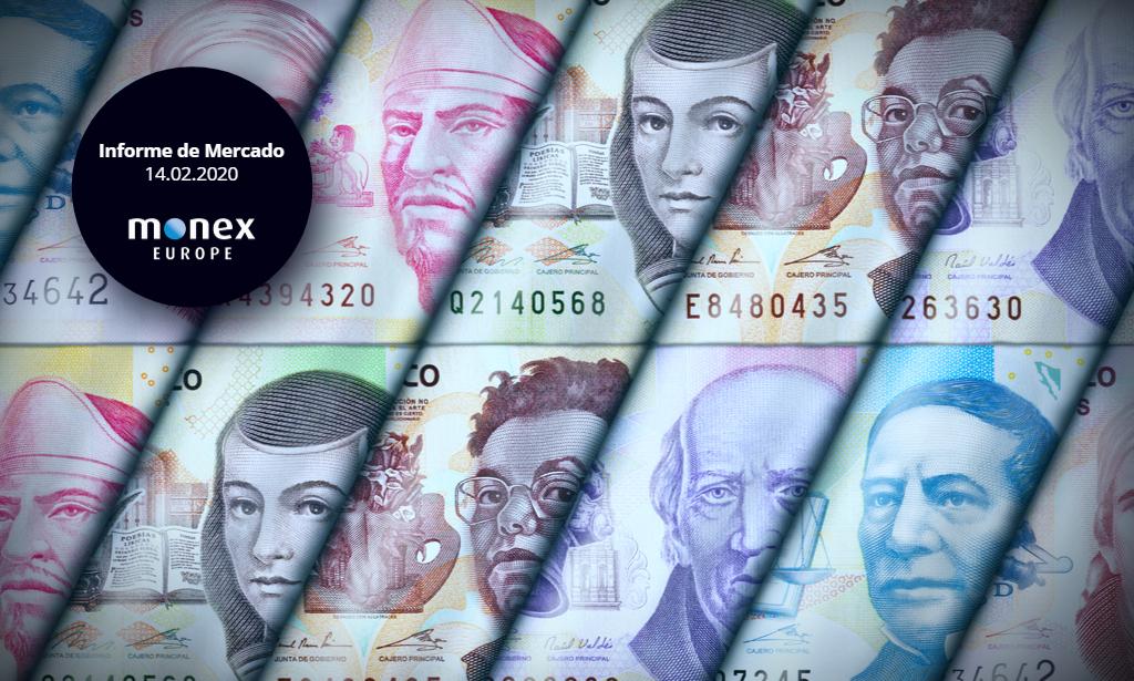 El peso mexicano recibe favorablemente el ajuste de otros 25 puntos básicos de los tipos de interés