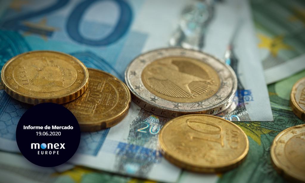 El euro se centra en el debate sobre el plan de recuperación comunitaria