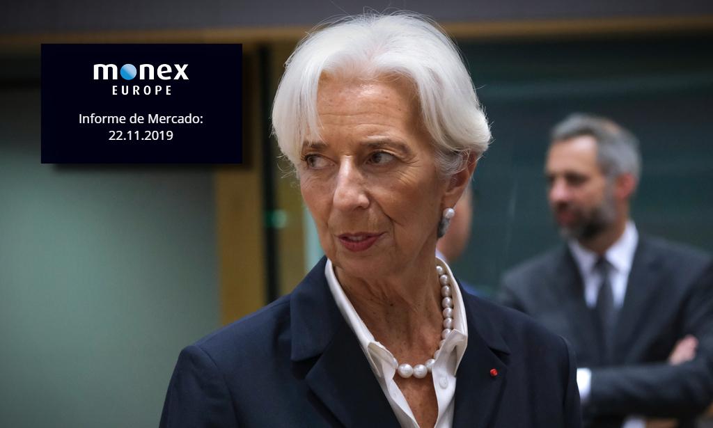 PMIs poco optimistas suprimen la aparente neutralidad de Christine Lagarde