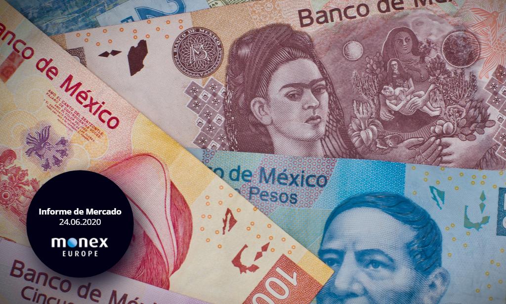 El peso mexicano se mantiene firme ante actividad sísmica y alarmante cifras del Covid