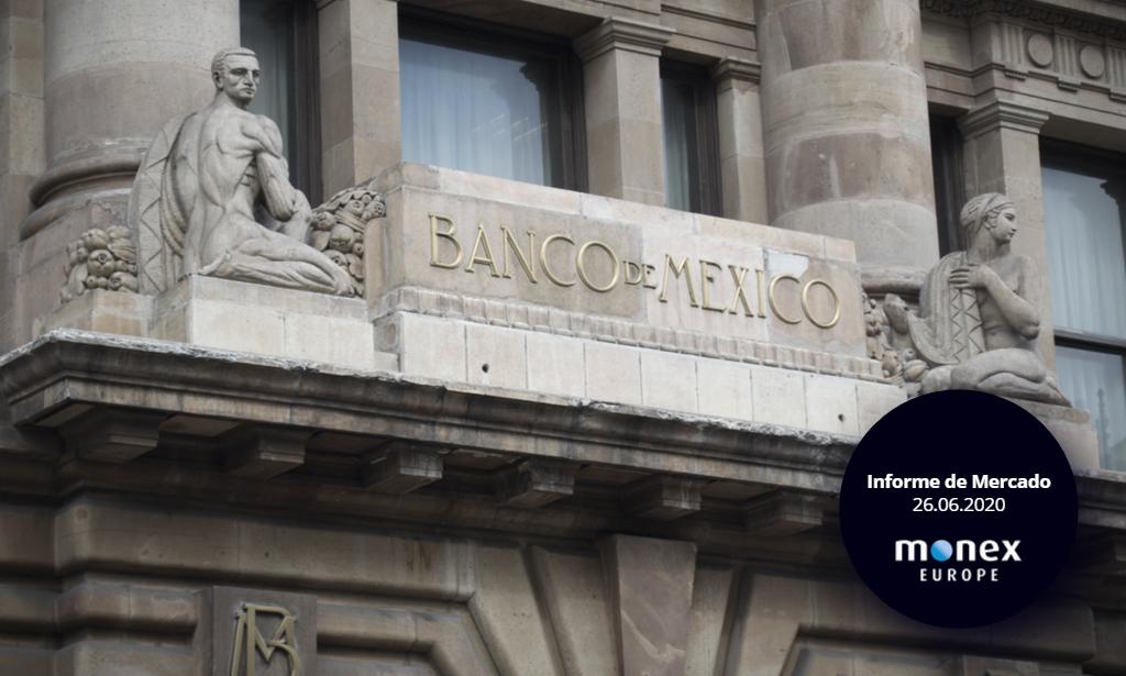 Banxico recorta otros 50 puntos básicos del tipo de referencia