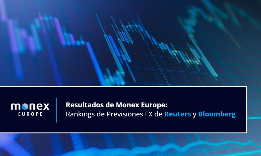 Los análisis de mercado de Monex Europe obtienen altas posiciones en los rankings de Reuters y Bloomberg