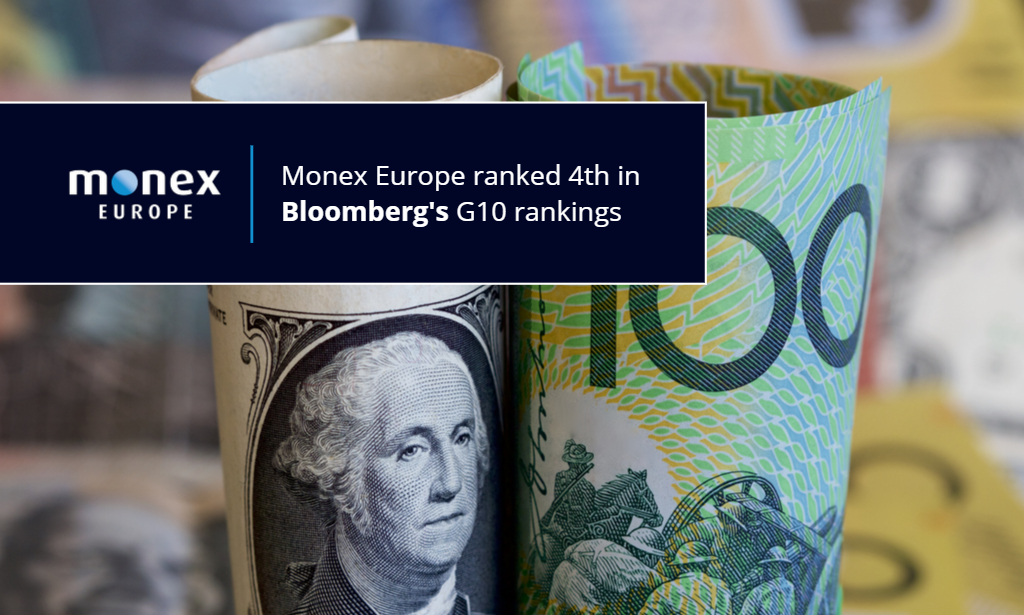 Monex Europe among leading forecasters in Bloomberg's G10 rankings