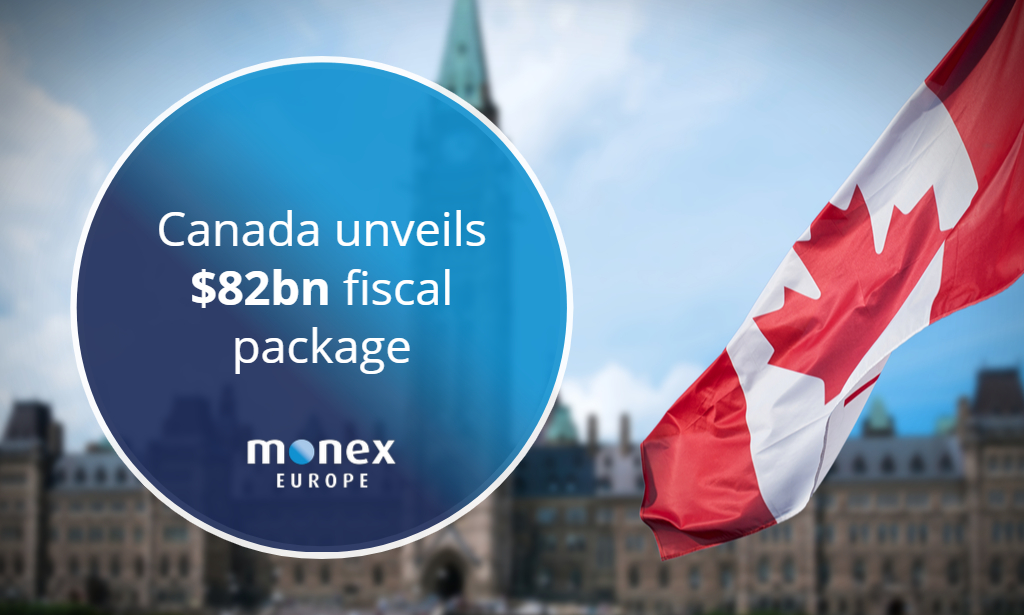 Canada unveils $82bn fiscal package