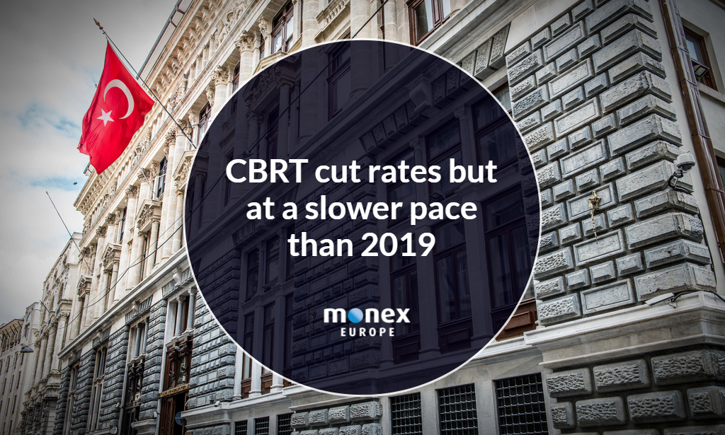 CBRT cut rates but at a slower pace than 2019