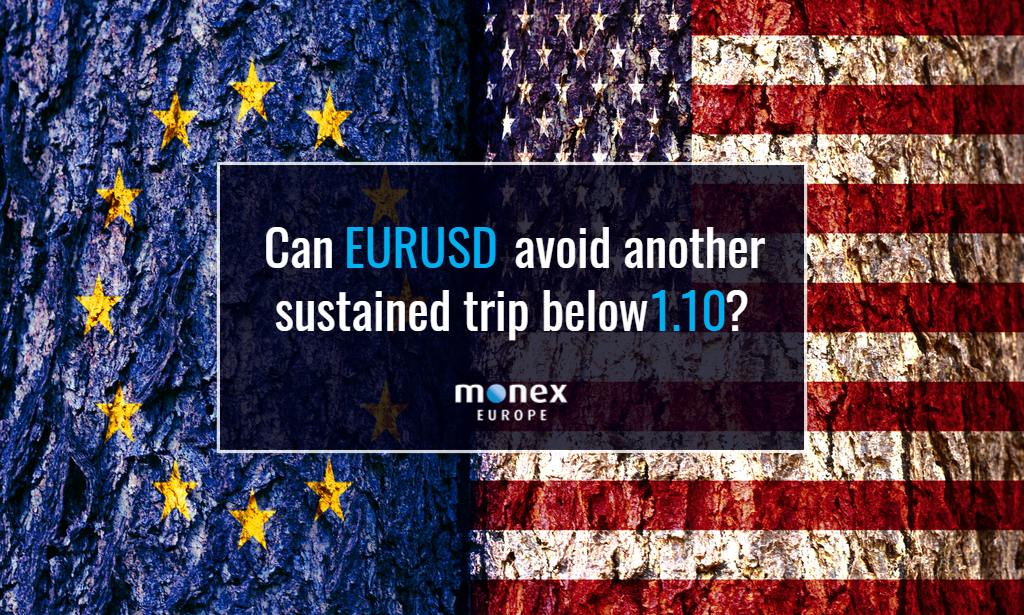 Can EURUSD avoid another sustained trip below 1.10?