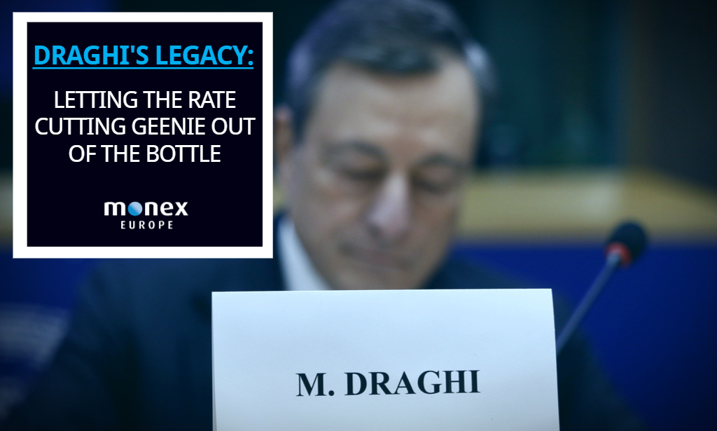 Draghi's legacy: letting the rate cutting geenie out of the bottle