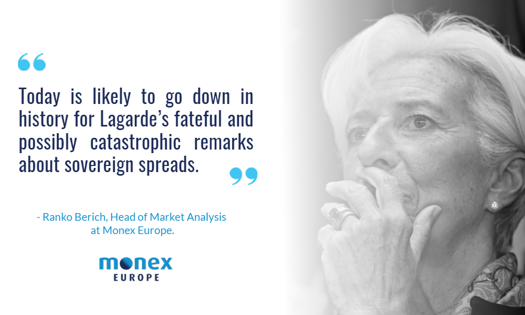 ECB opts for scalpel instead of bazooka as Lagarde delivers train wreck press conference