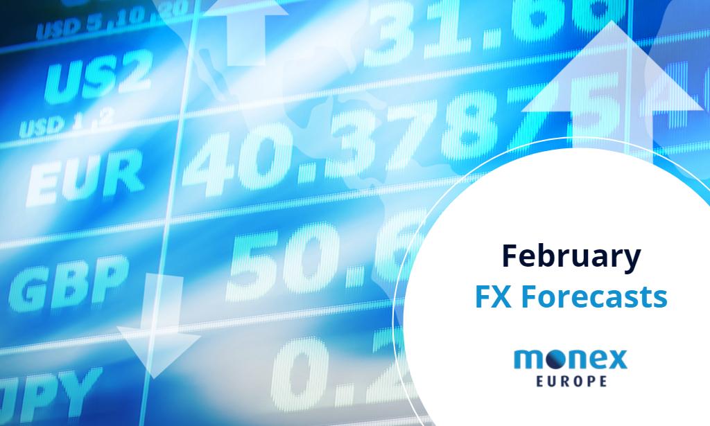 Monex Europe February 2021 FX Forecasts