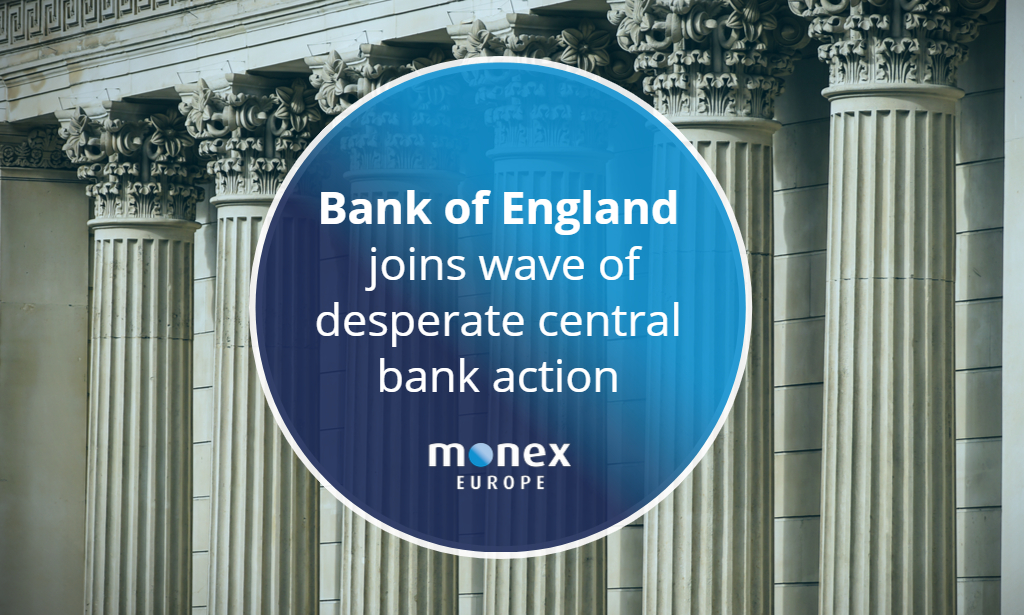 BoE joins wave of desperate central bank action aimed at stabilising sovereign bond markets