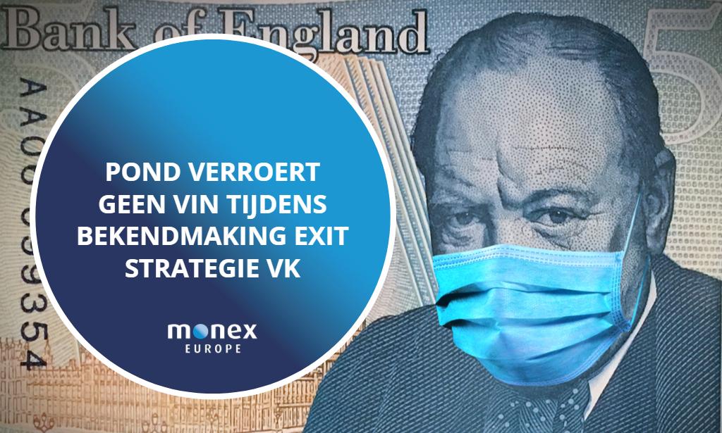 Pond verroert geen vin tijdens bekendmaking exit strategie VK