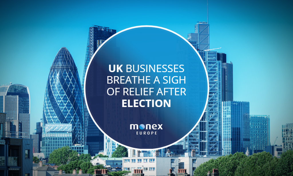 UK businesses breathe a sigh of relief after election