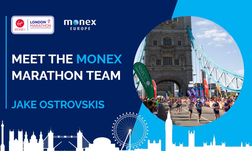 Meet the Monex marathon team | Jake Ostrovskis