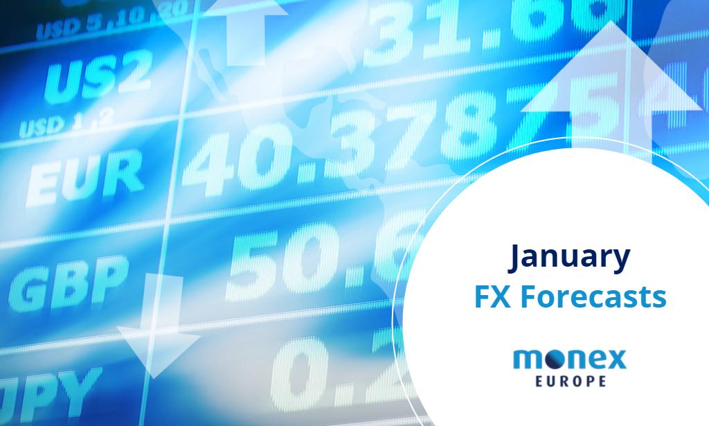 Monex Europe January 2021 FX Forecasts