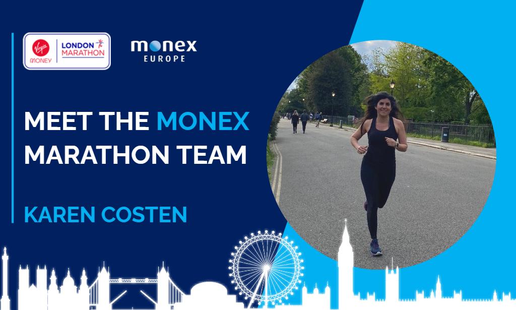 Meet the Monex marathon team | Karen Costen
