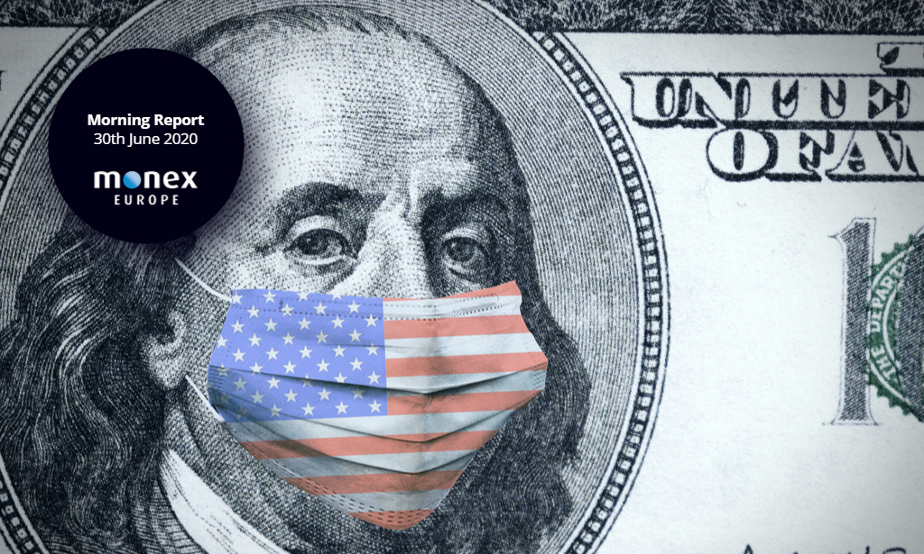 USD confusion as greenback fights back this morning despite Covid surge in the south