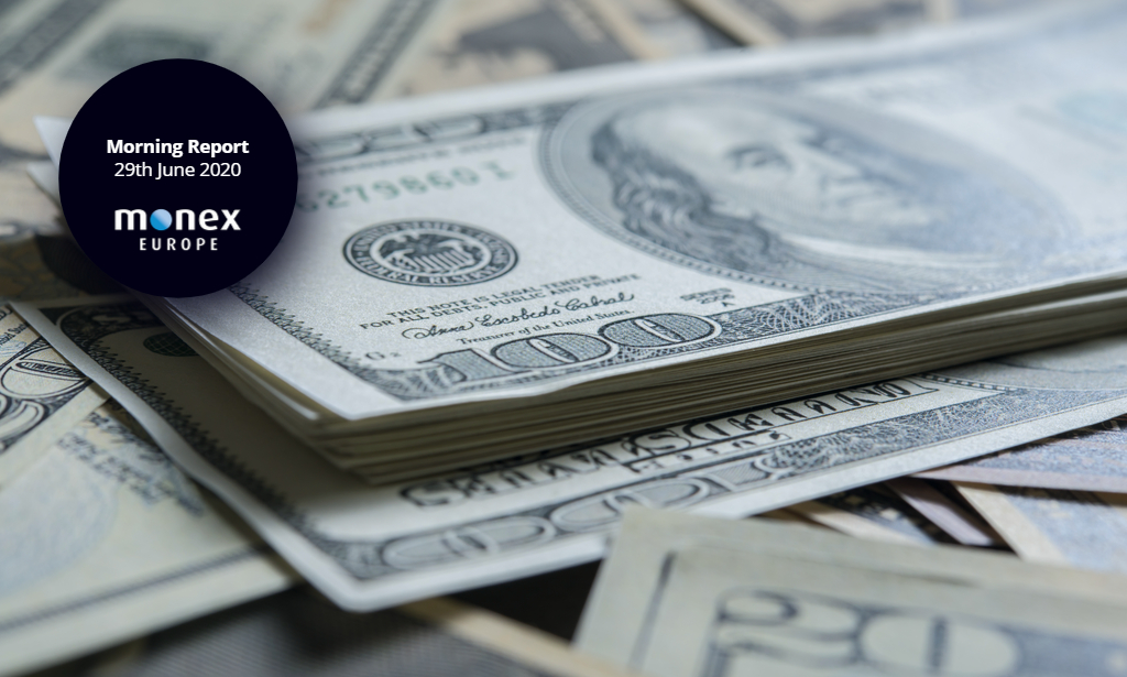 Dollar opens on back foot as domestic turmoil and virus counts rise