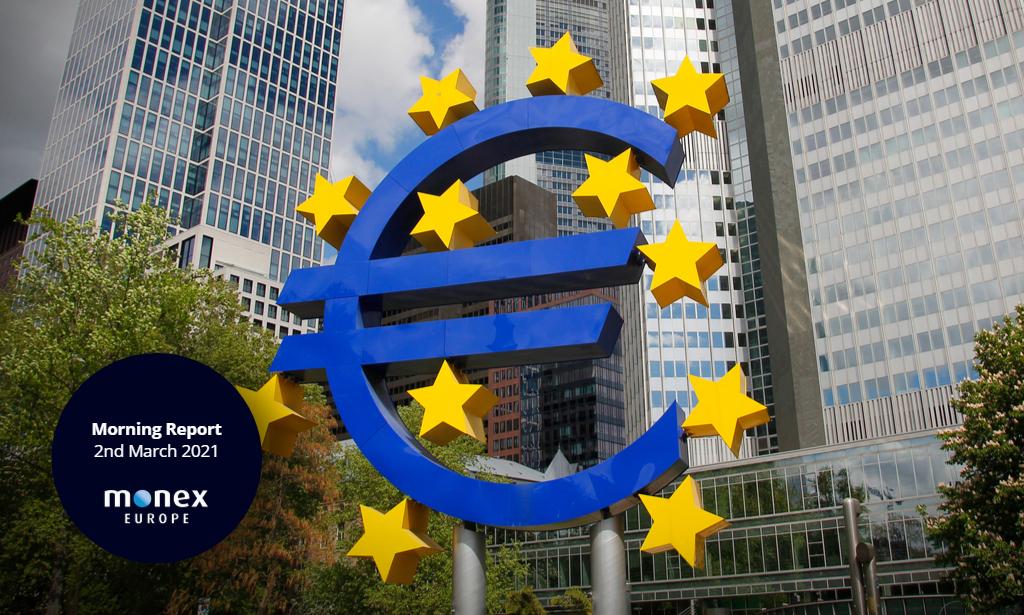 ECB slows down bond purchases despite signal to battle eurozone bond rout