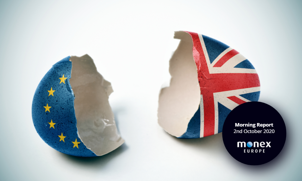 Brexit reaches end-game as talks intensify while markets turn risk-off on Trump Covid news