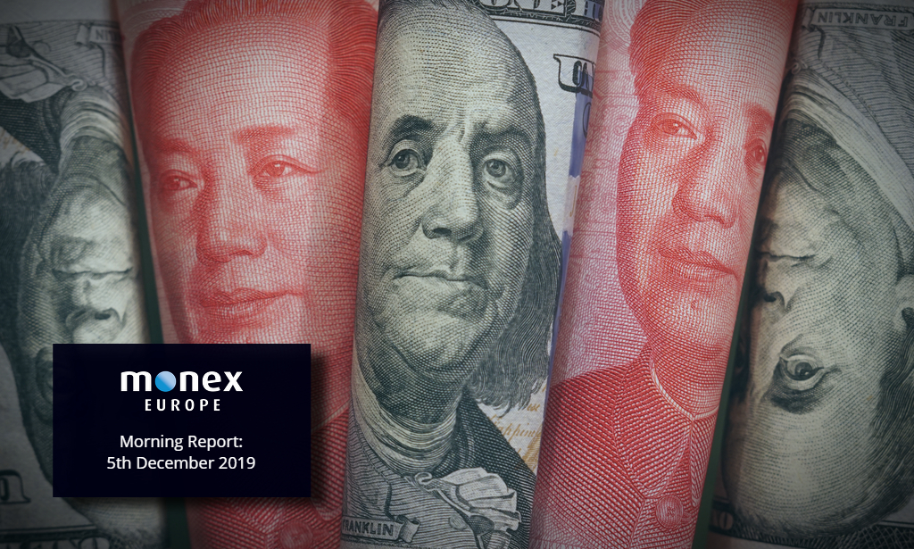 Trade relief on US-China talks sends USD lower