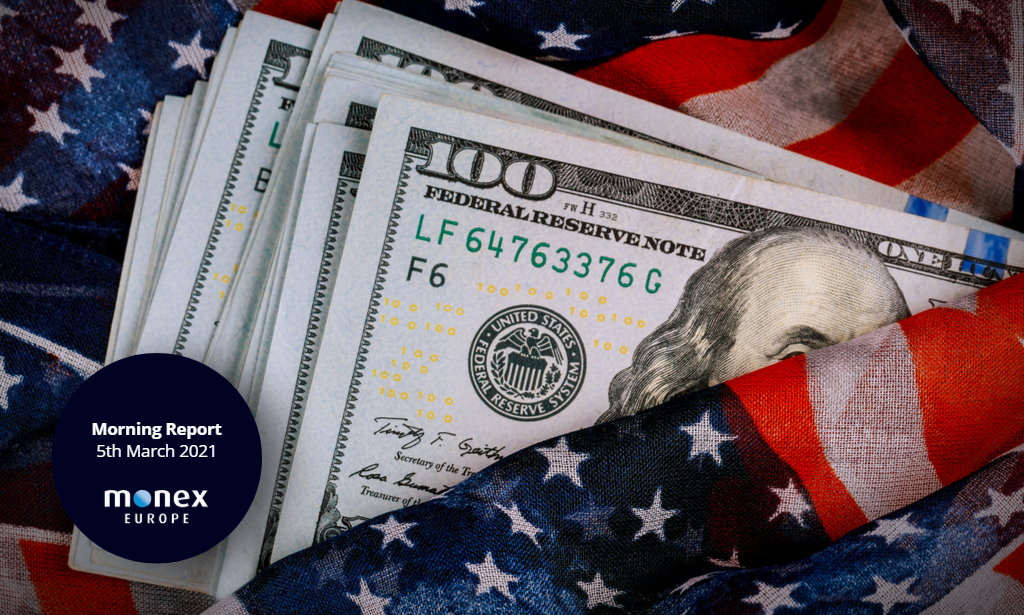 US dollar surges after Powell maintains a distant stance on rising yields
