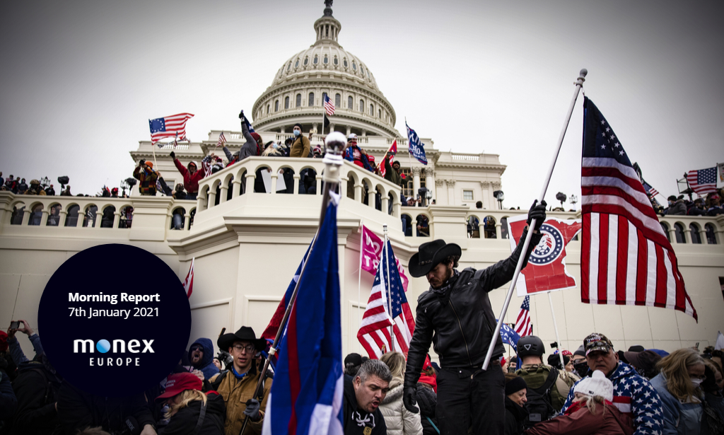 Protests in DC don't rock markets, Biden confirmed next US President by Congress