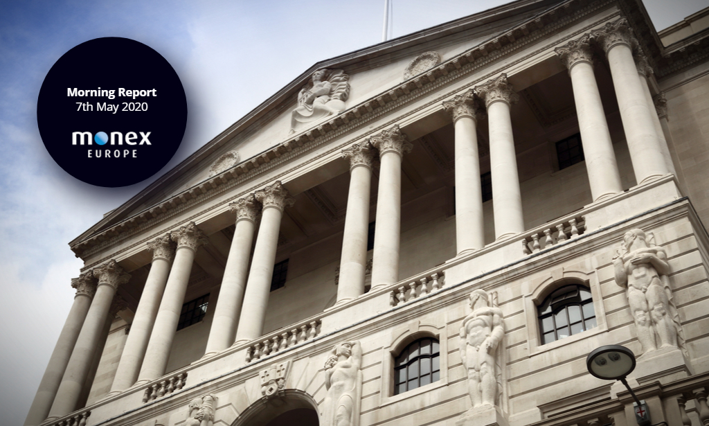 BoE keeps key rate and asset purchases unchanged