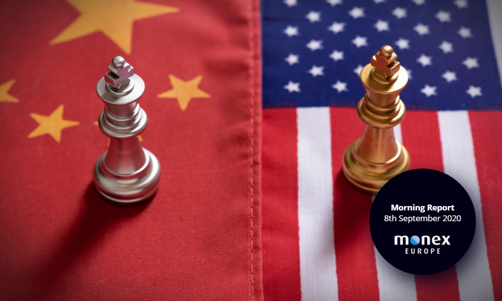 Dollar gains on flare-up in US-Sino relations