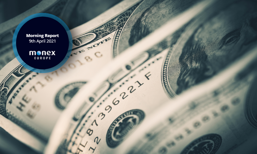 US dollar back on the front foot as Treasury yields reverse yesterday's losses