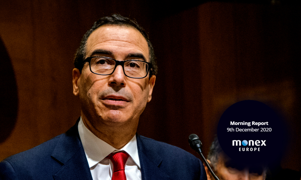 US dollar sent lower after $916bn relief proposal by Steven Mnuchin
