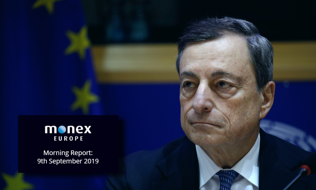 Draghi's final ECB meeting dominates this week's events