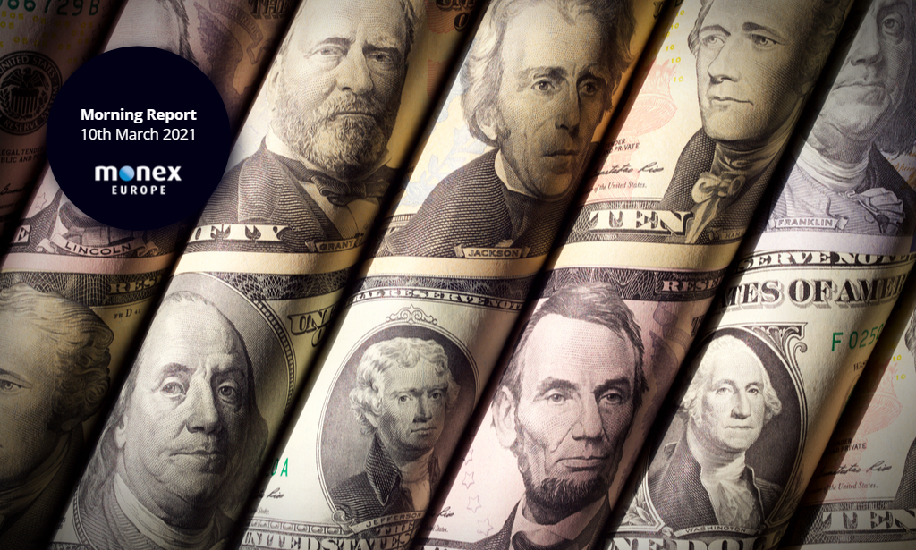Dollar softens yesterday but bear steepening in USTs puts the greenback on the offensive again