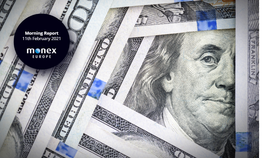 Dollar trades mixed in today's session after dud CPI reading