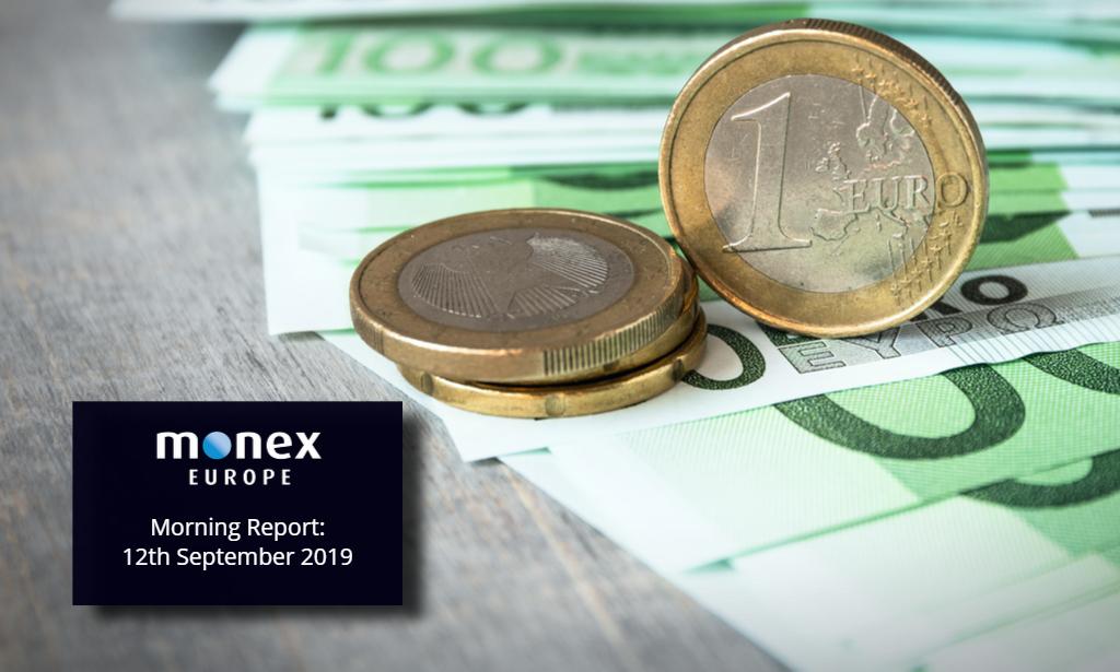 EUR dips below 1.10 ahead of ECB decision