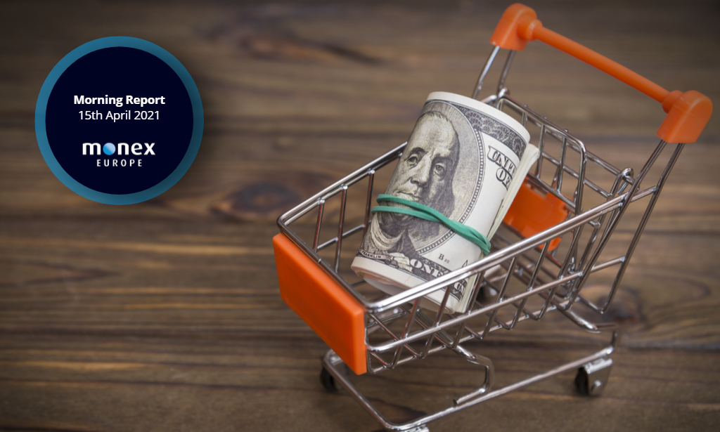 Improved market mood stings the dollar ahead of US retail sales data