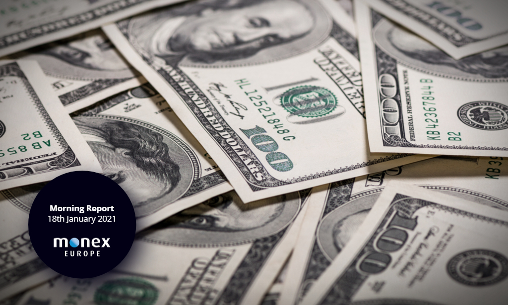 Dollar bounces back as risk sentiment remains tentative while US observe federal holiday
