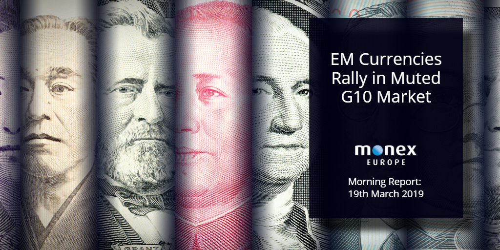 EM Currencies Rally in Muted G10 Market