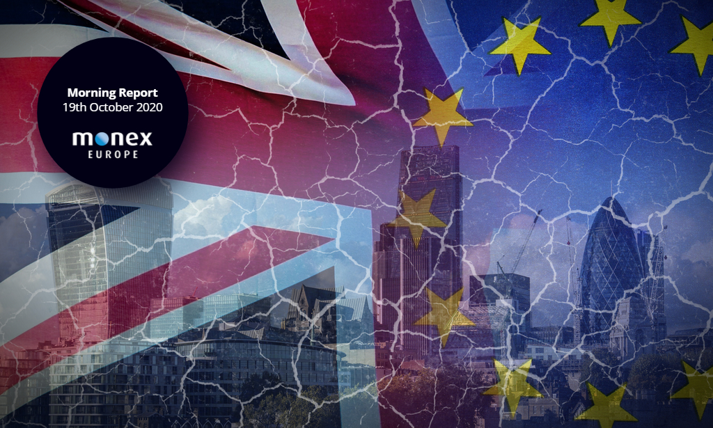 US stimulus talks still at an impasse while internal markets bill may get watered down to allow Brexit deal