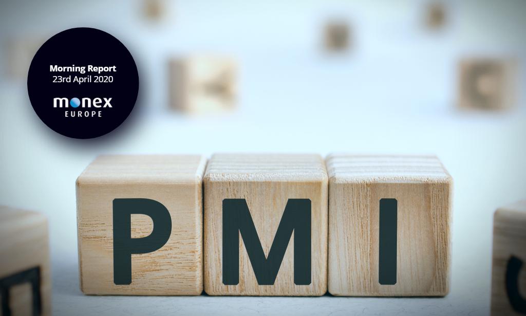 PMIs in focus as markets gauge economic toll of COVID-19