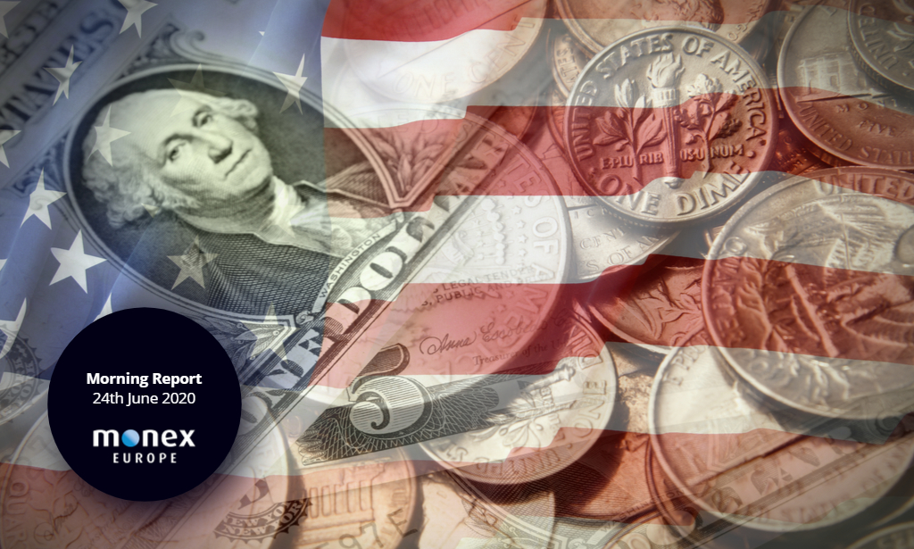 Dollar extends declines on economic recovery optimism despite virus concerns in Europe