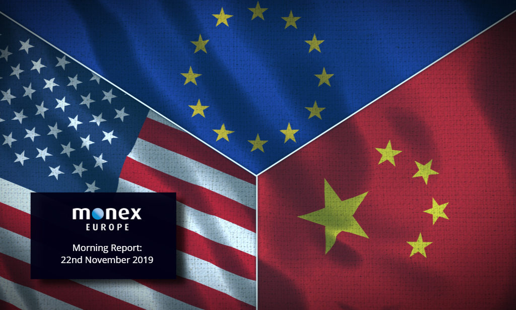 Deal or no-deal switches from Brexit to US-China