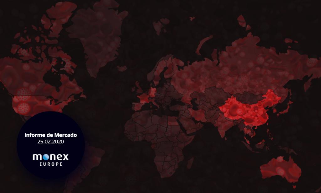 Las bolsas internacionales entran en pánico por nuevos brotes del coronavirus