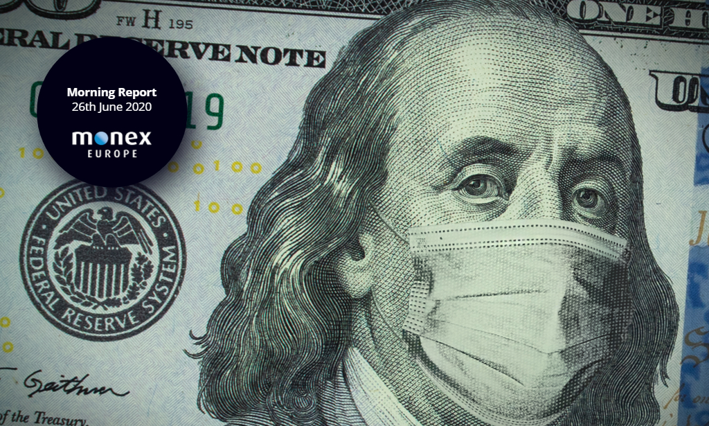 US battle with virus drives markets
