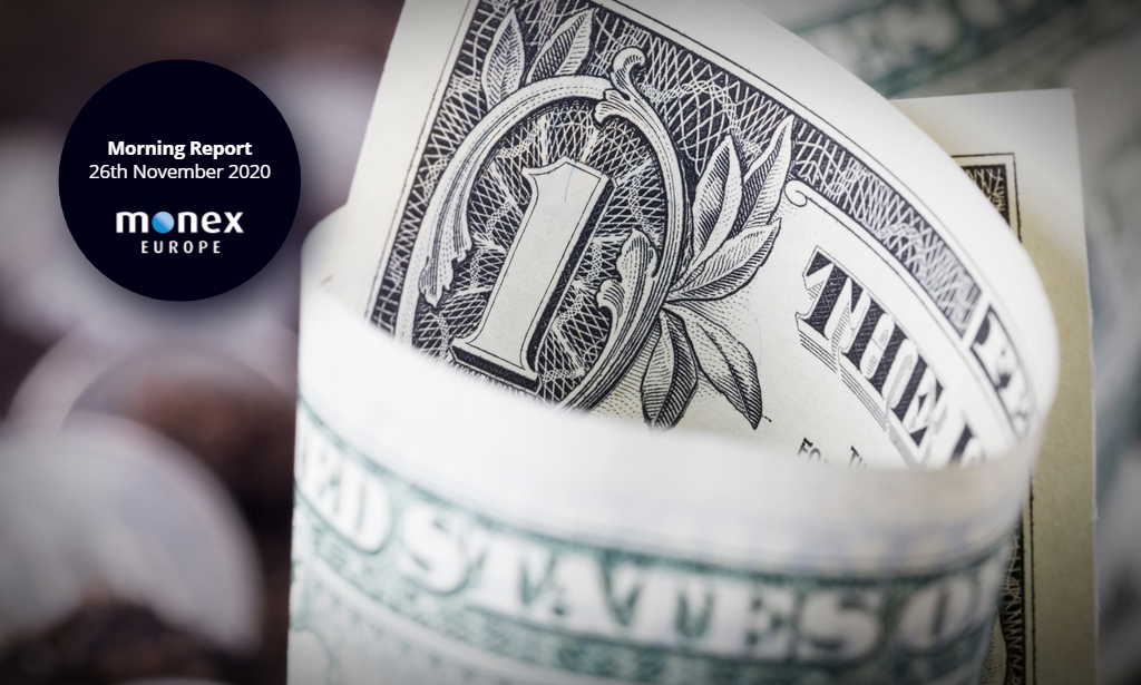 Dollar rout stabilises as American's tuck into their Thanksgiving turkeys