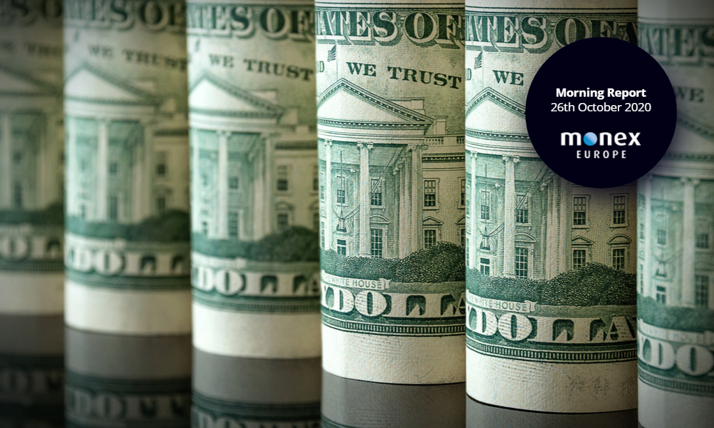 Dollar rises on risk-off flows as cases continue to rise in major economies